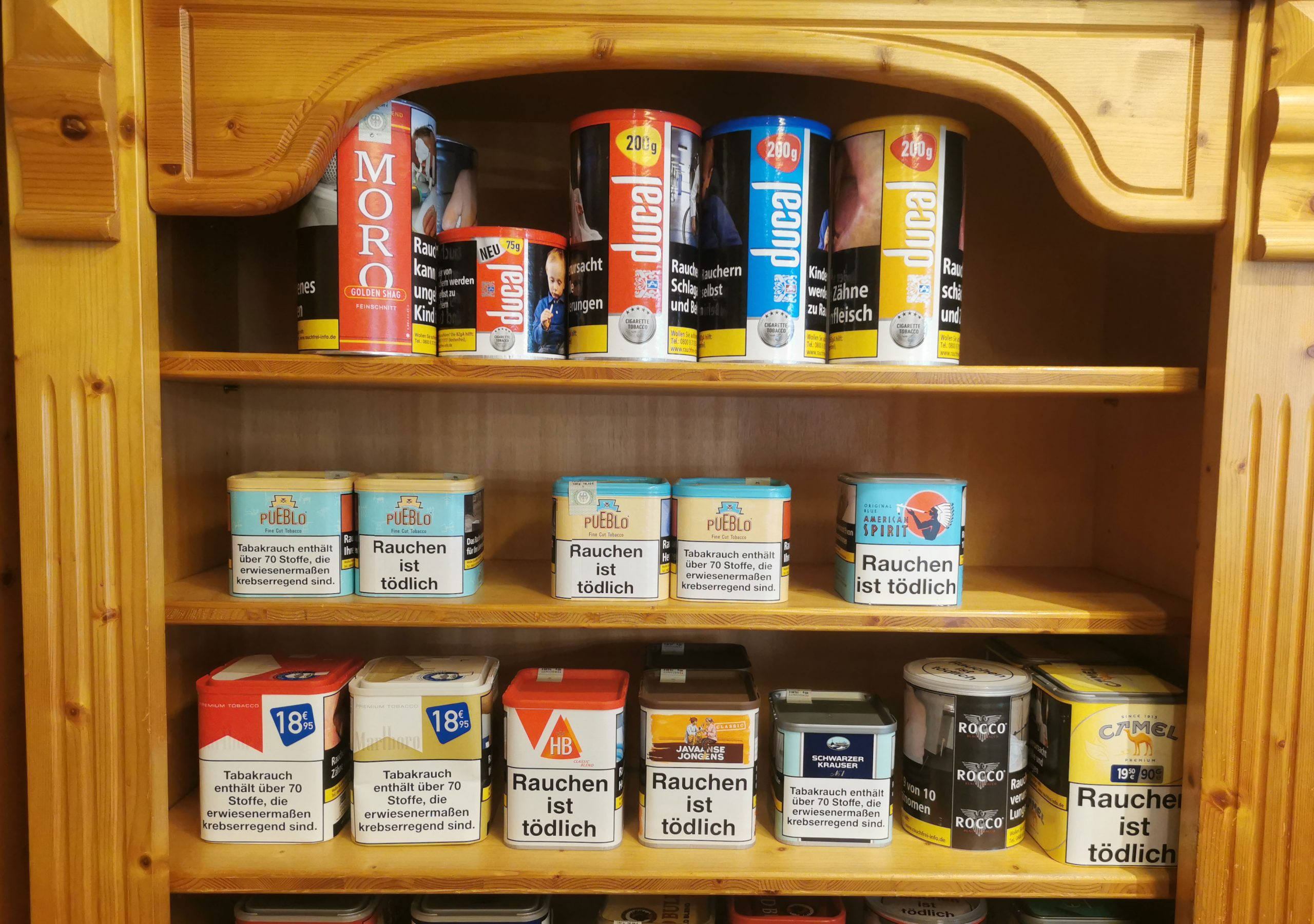 Zigarettentabake